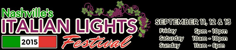 Italian Lights Festival 2015
