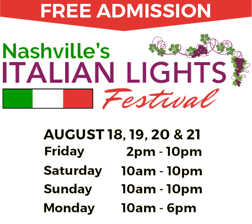 Italian Lights Festival 2017 Solar Eclipse Nashville TN