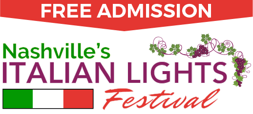 Italian Lights Festival 2017 Solar Eclipse Nashville TN Mobile Logo